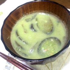 枝豆の呉汁