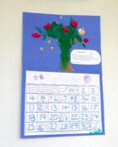 毎月つくるカレンダー