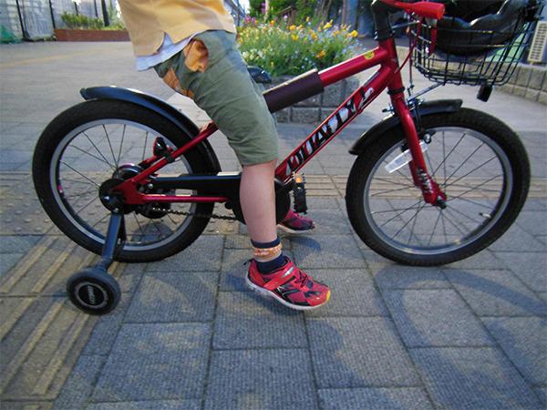 自転車の補助輪いつとる?どうやってとる?5歳・6歳・7歳?