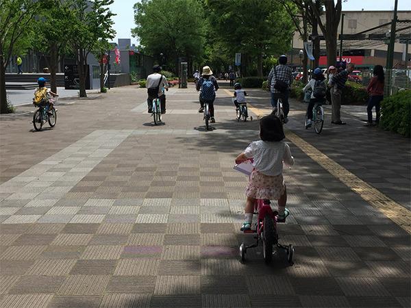 """""""自転車のまち つくば""""在住ライターのレポート。 自転車公道デビュー前に教えたい、交通ルールとマナー"""