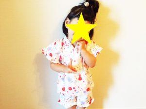 屋内で見るなら浴衣もいいかも♡ 子どもの和装は200%可愛い!