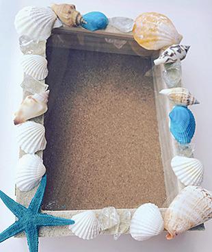 【週末工作教室】貝殻フォトフレームをつくろう!