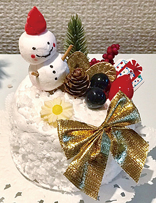 【週末工作教室】クレイアートでクリスマスケーキをつくろう!