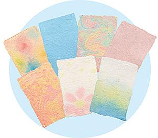 【週末工作教室】牛乳パックを使った紙すきでメッセージカードをつくろう!☆大人も参加できます☆