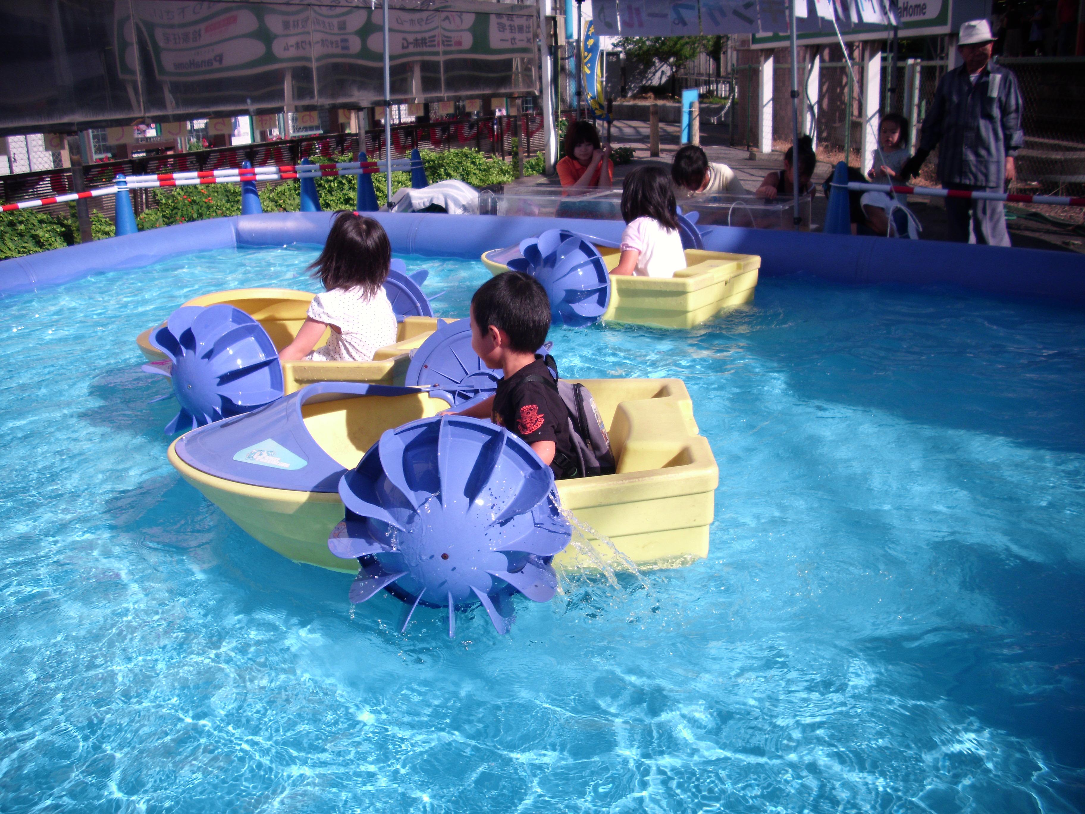 キッズイベント「パドルボート」