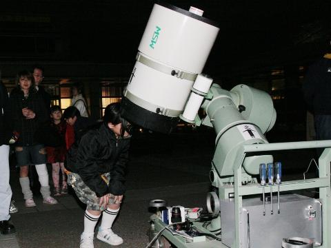 天体観望会(7月20日)「木星とガリレオ衛星」